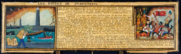 Les digues de Sébastopol