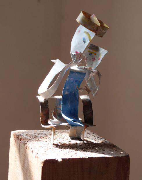 Sculpture Mère enfant