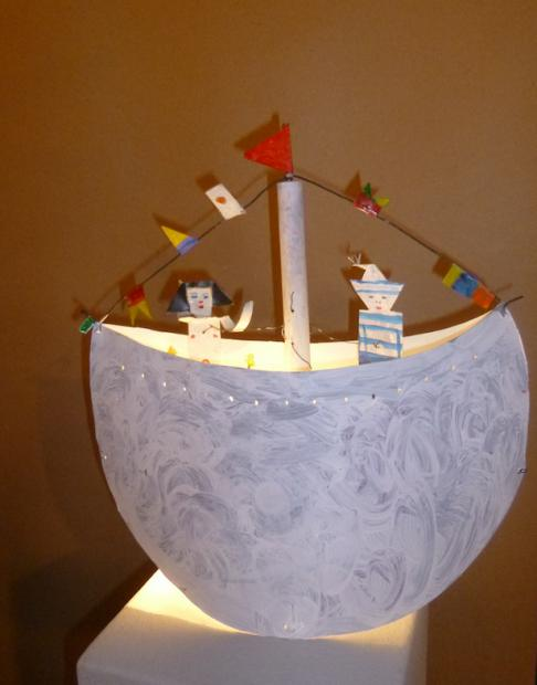 Lampe-bateau